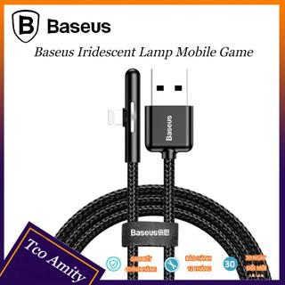 Cáp Sạc Nhanh Baseus 2.4A [ 1 ĐỔI 1] Cho iPhone XS Max XR X 8 7 iPad, Thiết Kế Bền Đẹp, Tiện Dụng Cho Chơi Game
