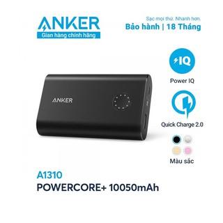 Pin sạc dự phòng ANKER PowerCore+ 10050mAh Quick Charge 2.0 - A1310 - Hàng chính hãng thumbnail