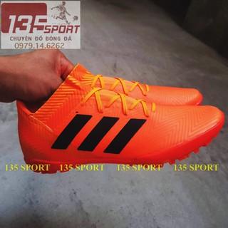 Giày bóng đá Nemeziz 18.3 cam cổ thấp TF (Tặng kèm Túi rút + Free khâu đế) thumbnail