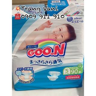 [Cộng Miếng] Tã Bỉm GOON Nội Địa Nhật dán quần NB90 S84 M64 thumbnail