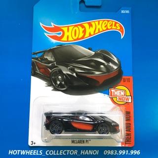 Xe Hot Wheels – McLaren P1 Đen