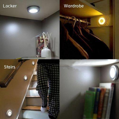 Đèn báo chí chạm 3 đèn LED Mini 3 đèn LED Tủ bếp Tủ bếp Đèn ngủ