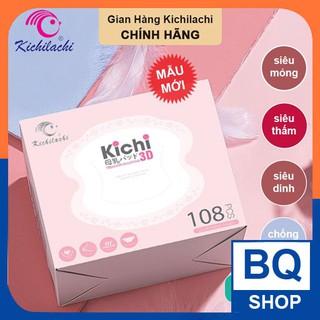 [Mã 157FMCGSALE giảm 8% đơn 500K] BQShop Lót thấm sữa Kichi bịch 108 miếng