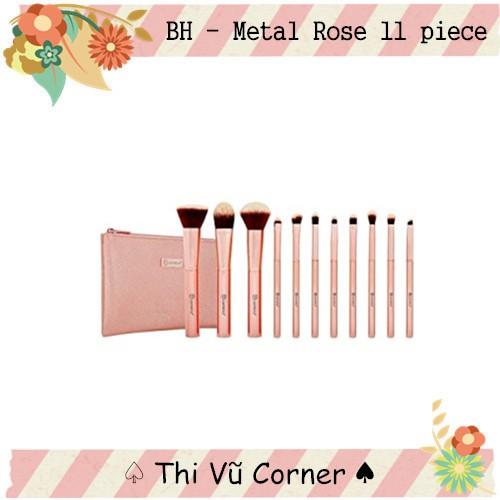 Bộ cọ BH Cosmetics Metal Rose 11 cây