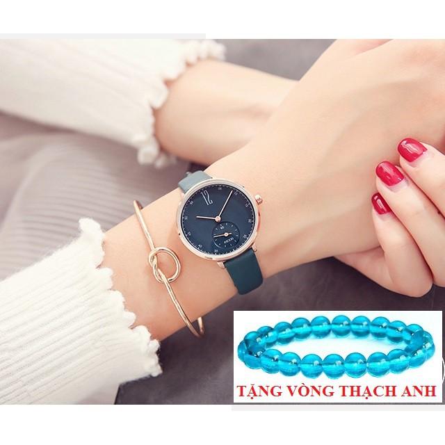 Đồng hồ nữ Kezzi 1732 dây da chính hãng