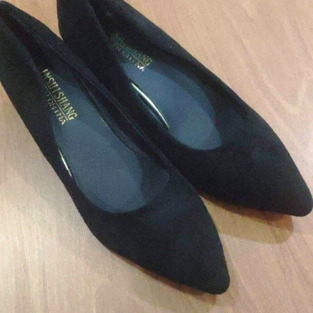 Giày gót vuông size 41