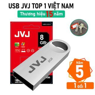 USB 8Gb JVJ S3 siêu nhỏ vỏ kim loại - USB 2.0, tốc độ 25MB s Vỏ Kim Loại chống nước ổn định Bảo hành 5 năm chính hãng thumbnail