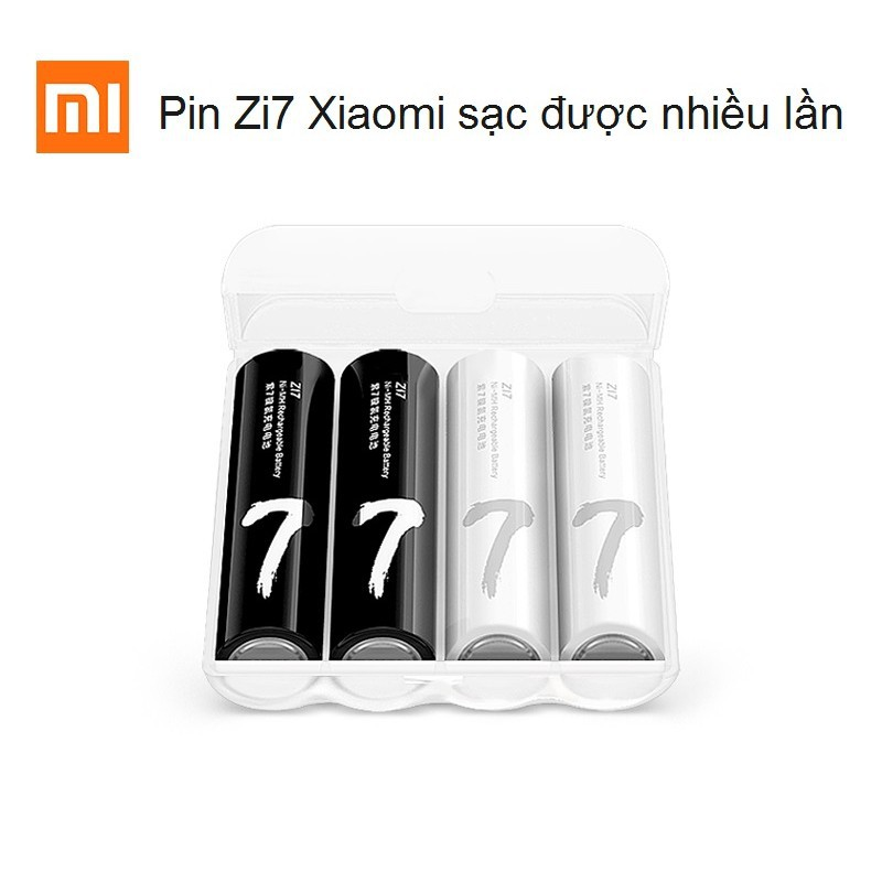 [Chính Hãng] Pin AAA Xiaomi Zi7 sạc được nhiều lần