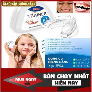 Bộ Dụng Cụ Niềng Răng Tại Nhà – Niềng răng trong suốt – cho tr.ẻ ( 3 giai đoạn ) [FREE SHIP]