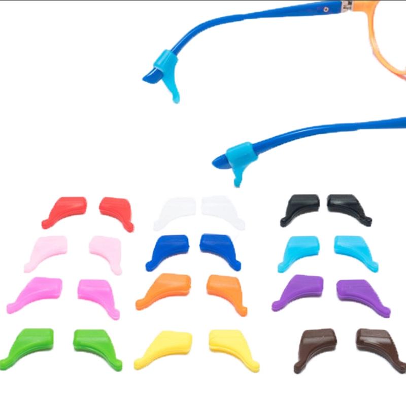 【MER】8PCS Anti Slip Glasses Ear Hooks Tip Eyeglasses Grip Temple Holder Silicone Hot