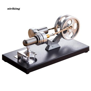 Nlkg♥Hot Air Power Stirling Engine Model Generator Kids Science Educational Toy