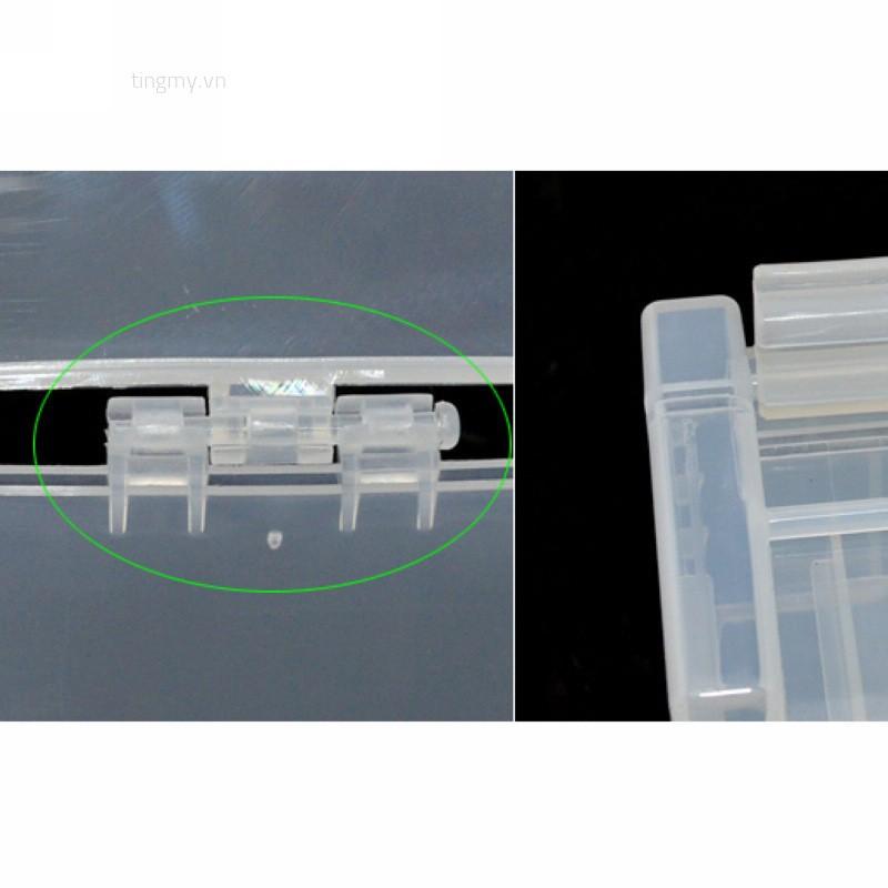 Hộp nhựa đựng pin AA AAA tiện lợi