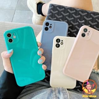 Ốp điện thoại TPU dẻo chống sốc dạng vuông màu kẹo ngọt thời trang cho IPHONE 11 PRO MAX X XS MAX XR 8 7 PLUS SE 2020