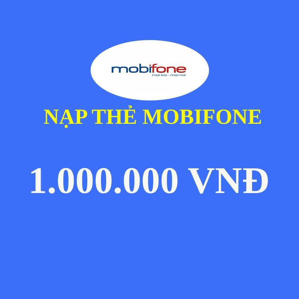 Thẻ nạp Mobi 1.000.000