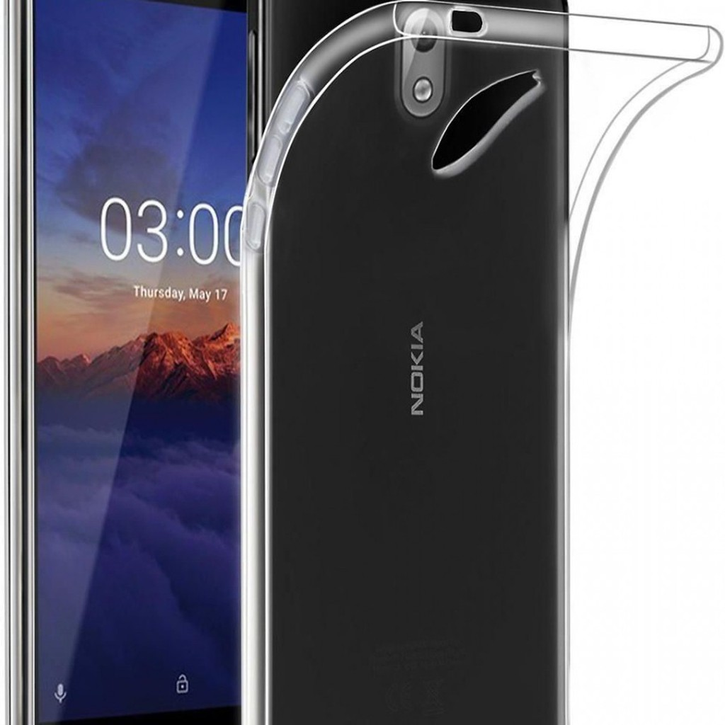 Bộ 2 ốp lưng silicone dẻo cho Nokia 2.1 (trong suốt)
