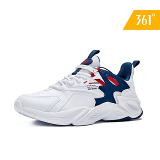 361 Degrees Men Classic Design Running Shoes Authentic Shock Casual Non-Slip Travel Wild Sports Sneakers571946767 thumbnail