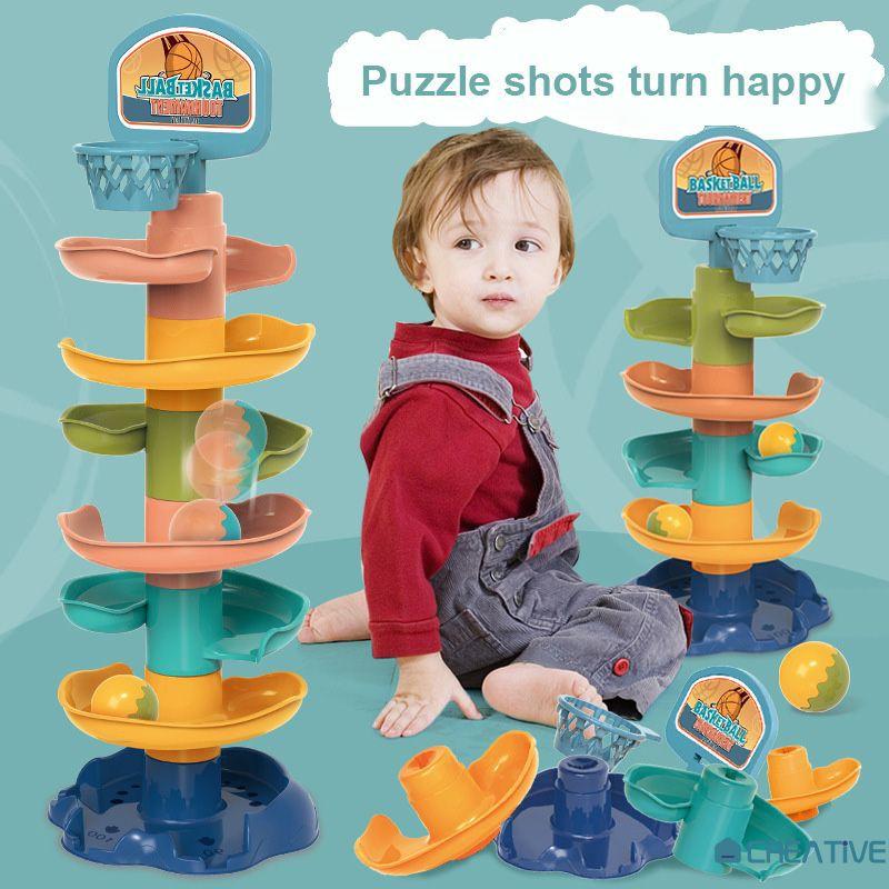 đồ chơi ngoài trời  Đồ chơi tháp lăn bóng dành cho trẻ em