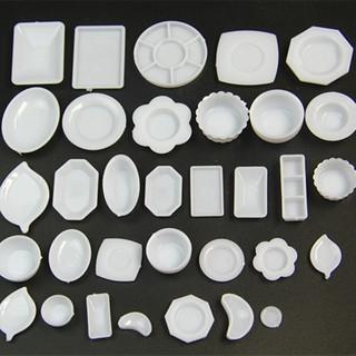 Set 33 món chén dĩa mini trang trí mô hình