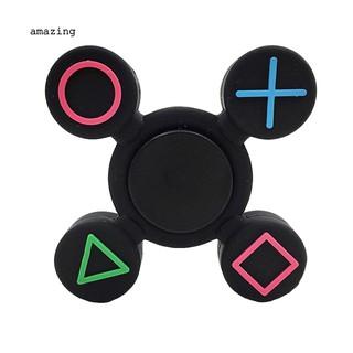 ✌Geometric Fidget Silicone Hand Spinner Finger Toy EDC Focus Fingertip Gyro Gift