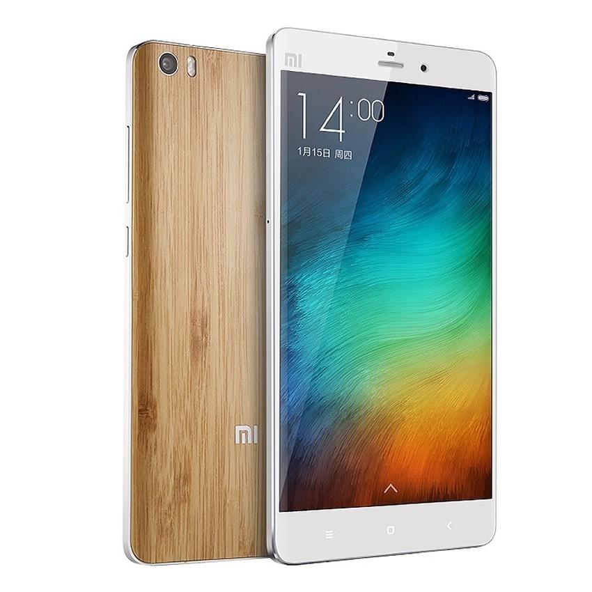 Điện thoại Xiaomi Mi Note 4G 16GB (Trắng Lưng vỏ tre) - Hàng Nhập Khẩu