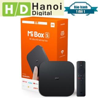 Android Tivi MIBOX S 4K GLOBAL 2020- Mi box S 4K Quốc Tế Model MDZ-22-AB BH 12 THÁNG