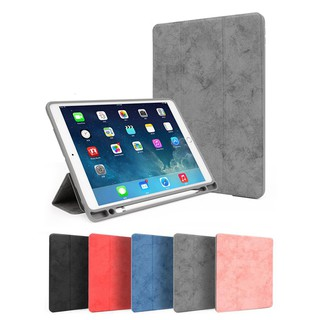 Ốp lưng cho iPad 9.7 inch 2018 2017 với Giá đỡ bút chì cho iPad Air 1 2 Vỏ bảo vệ Vỏ nam châm Tự động ngủ / Wake Case