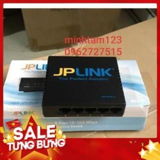 [Hàng loại 1] Bộ chia mạng 5 cổng switch JPLINK -PC