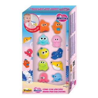 Hộp đồ chơi sinh vật biển WINFUN cho bé tập khám phá