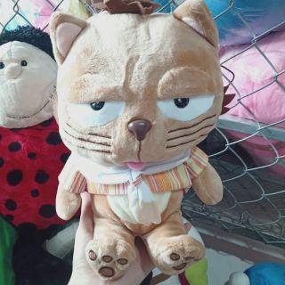 Gấu bông hình mèo lười nâu
