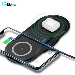 Đế Sạc Nhanh Không Dây 20w Cho Iphone 11 Pro Xs Xr X 8 Airpods 2 10w
