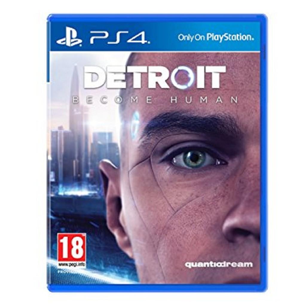 Đĩa game Ps4: Detroit Become Human