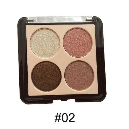 Phấn mắt 4 màu Odbo Silky Cocoa Eyeshadow 02 Color