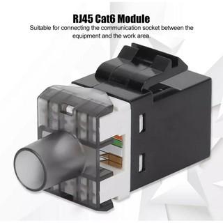 10 Nhân mạng – Modular Jack Cat6 – Cat5e