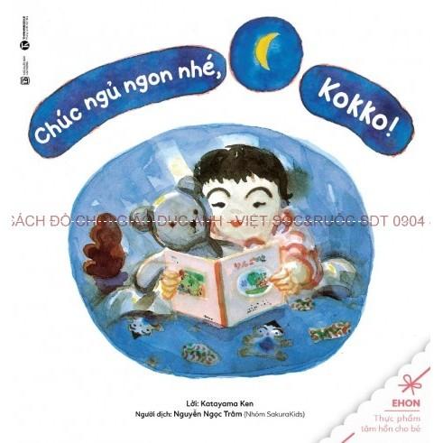 Ehon - Chuyện Bé Kokko - Chúc ngủ ngon nhé Kokko - 2679556 , 57877762 , 322_57877762 , 26000 , Ehon-Chuyen-Be-Kokko-Chuc-ngu-ngon-nhe-Kokko-322_57877762 , shopee.vn , Ehon - Chuyện Bé Kokko - Chúc ngủ ngon nhé Kokko