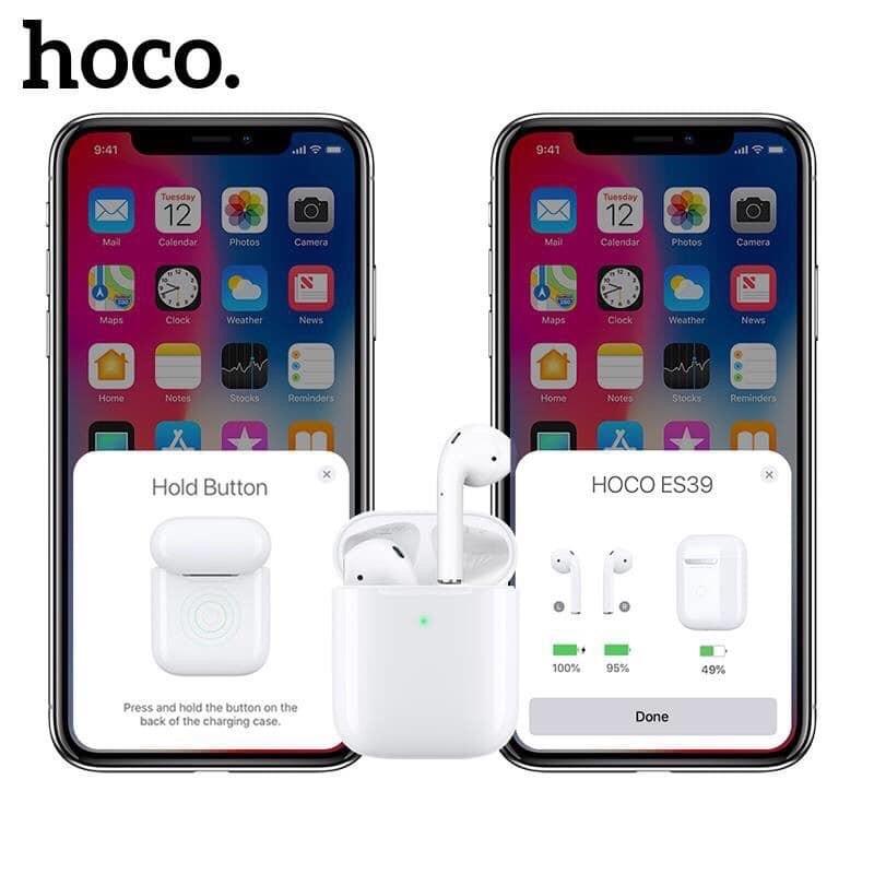 Tai nghe Bluetooth định vị đổi tên Hoco ES39 như I30 I500 Pro I1000 Pro I5000  I27  bảo hành 12 tháng