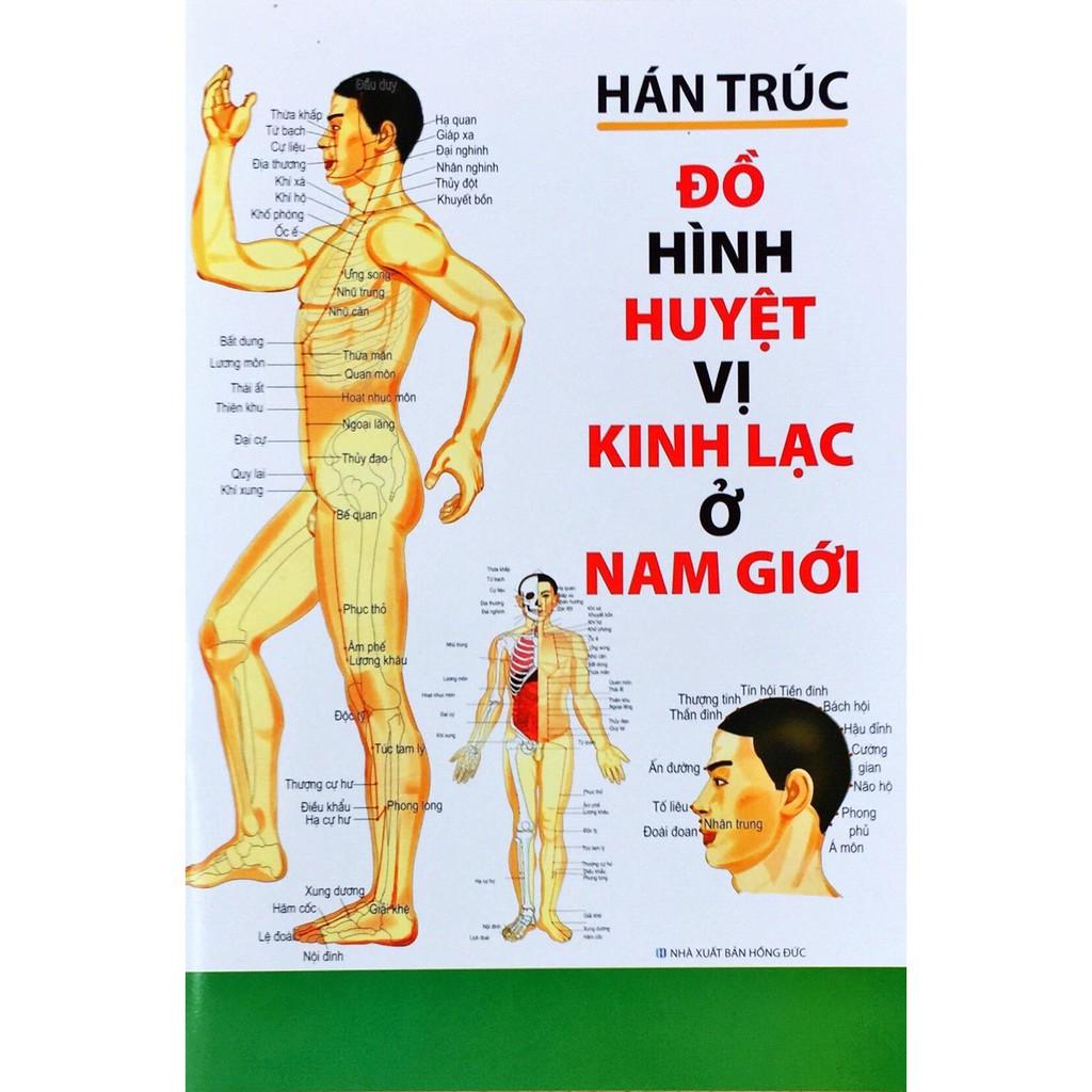 Sách - Đồ Hình Huyệt vị kinh lạc ở Nam Giới - Hán Trúc
