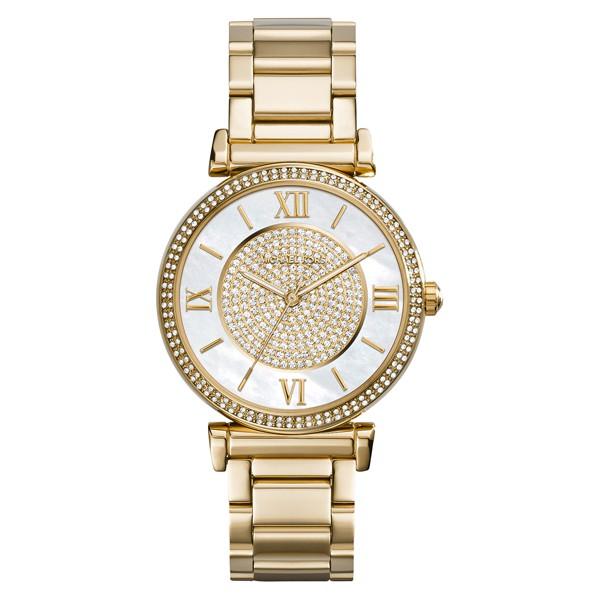 Đồng hồ nữ Michael Kors Catlin Gold-Tone MK3332 - Hàng chính hãng