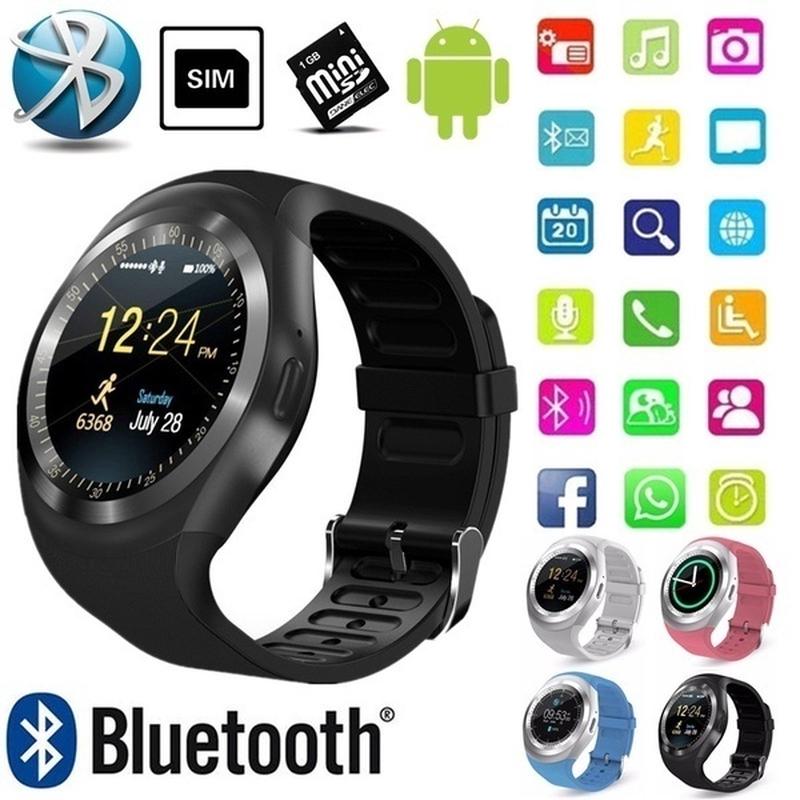 Đồng Hồ Thông Minh Y1 Kết Nối Bluetooth 1.22 '' Hỗ Trợ Thẻ Sim Tf Kèm Phụ Kiện