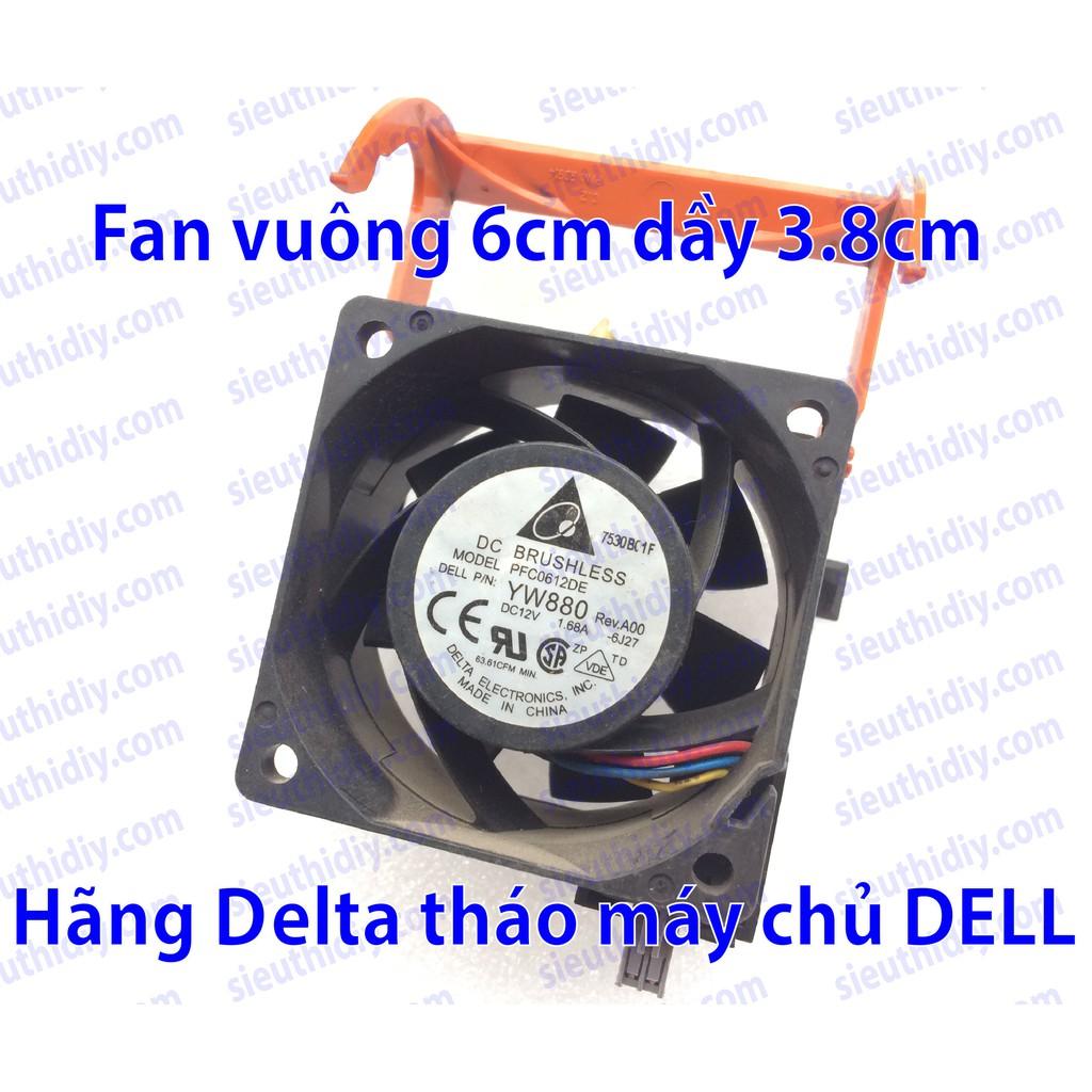 Quạt fan 6cm Delta PFC0612DE 12VDC 1.68A chính hãng - 3009929 , 949172078 , 322_949172078 , 80000 , Quat-fan-6cm-Delta-PFC0612DE-12VDC-1.68A-chinh-hang-322_949172078 , shopee.vn , Quạt fan 6cm Delta PFC0612DE 12VDC 1.68A chính hãng