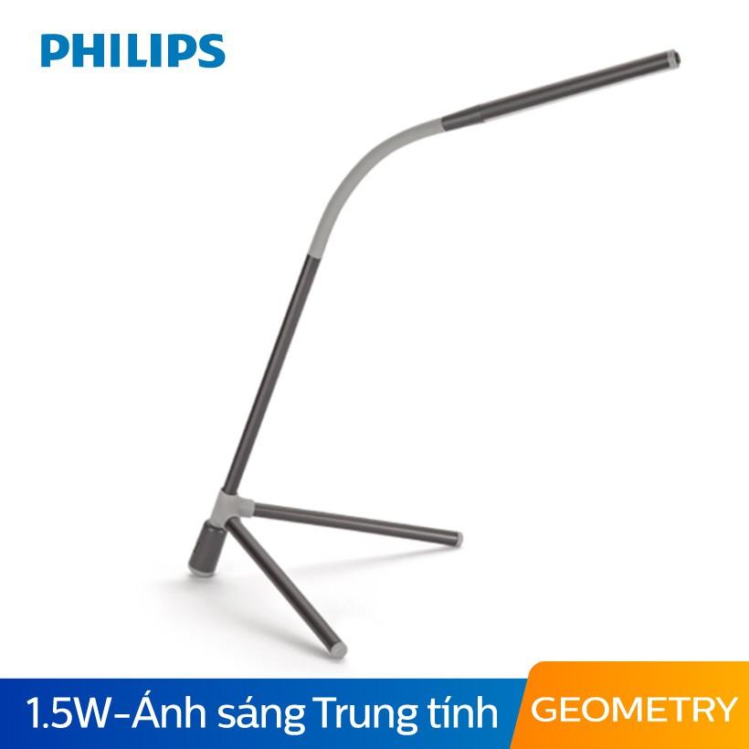 Đèn bàn Philips LED Geometry 66046