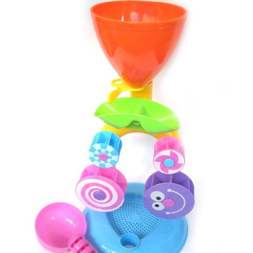 【Kiss】Windmill Waterwheel Summer Play Sand Water Toys Swimming Pool Bathing Toy