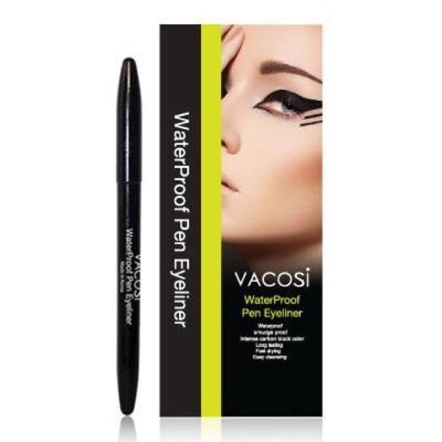 Bút kẻ mắt nước không trôi Vacosi Waterproof Pen Eyeliner - 2567121 , 115431298 , 322_115431298 , 95000 , But-ke-mat-nuoc-khong-troi-Vacosi-Waterproof-Pen-Eyeliner-322_115431298 , shopee.vn , Bút kẻ mắt nước không trôi Vacosi Waterproof Pen Eyeliner