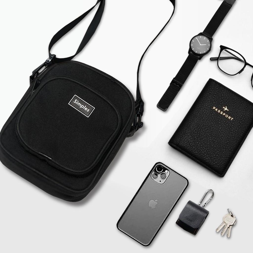 Túi đeo chéo thời trang nam nữ cao cấp Simples Daily Bag (Chất liệu chống thấm nước, form dày, đứng)
