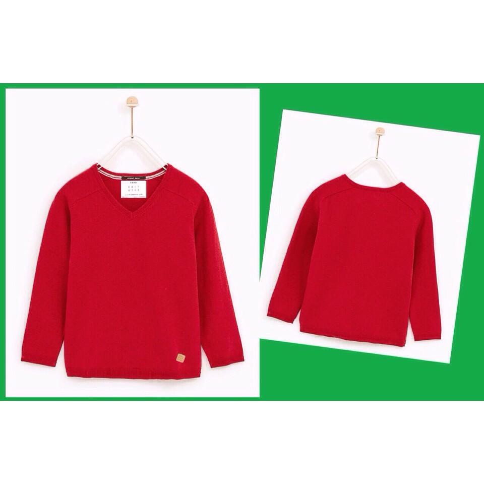 Áo len bé trai Zara màu đỏ - 3472763 , 1036181704 , 322_1036181704 , 175000 , Ao-len-be-trai-Zara-mau-do-322_1036181704 , shopee.vn , Áo len bé trai Zara màu đỏ