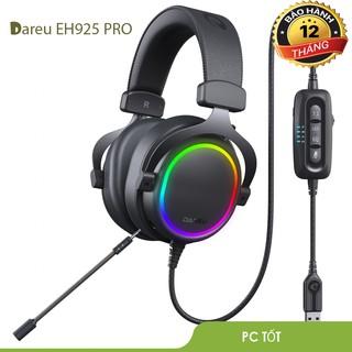 [Mã ELMSHX hoàn 8% xu đơn 500K] Tai nghe DAREU EH925s RGB PRO-Giả lập 7.1- thumbnail