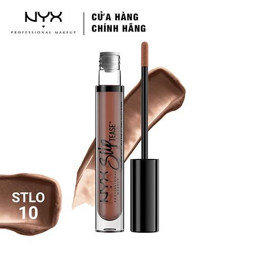 Son môi NYX Professional Makeup Slip Tease Full Color Lip Oil STLO10 Beyond Basic 8.8ml - 3508949 , 1274823320 , 322_1274823320 , 250000 , Son-moi-NYX-Professional-Makeup-Slip-Tease-Full-Color-Lip-Oil-STLO10-Beyond-Basic-8.8ml-322_1274823320 , shopee.vn , Son môi NYX Professional Makeup Slip Tease Full Color Lip Oil STLO10 Beyond Basic 8.