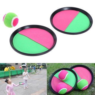 1 Set Children Sticky Ball Toys Indoor&Outdoor Fun Sports Parent-child Interactive Throw&Catch Ball