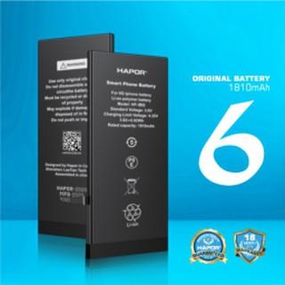 [ Chính Hãng ] PIN DUNG LƯỢNG CAO HAPOR 6P – HP-B01 Cho Iphone 6S