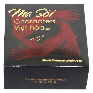 FREESHIP 99K TOÀN QUỐC_Bộ bài Ma Sói Characters cơ bản Việt thumbnail