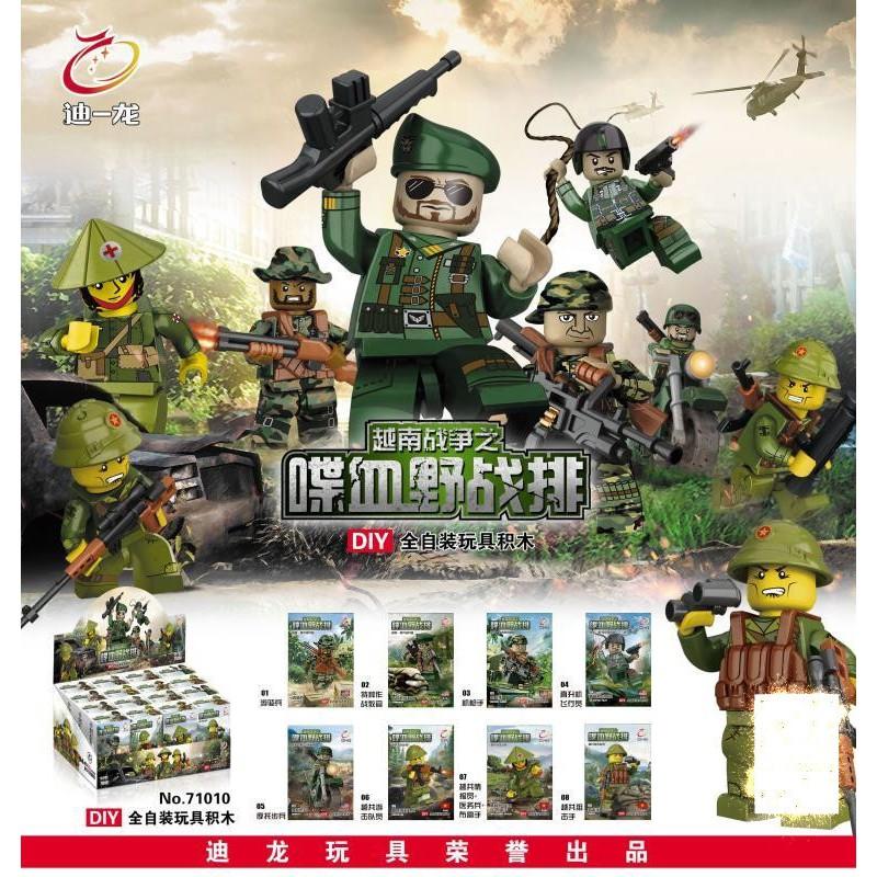 Mô hình lắp ráp Non Lego Lính Biên Phòng D71010 1 bộ 8 hộp - 3152317 , 759495826 , 322_759495826 , 170000 , Mo-hinh-lap-rap-Non-Lego-Linh-Bien-Phong-D71010-1-bo-8-hop-322_759495826 , shopee.vn , Mô hình lắp ráp Non Lego Lính Biên Phòng D71010 1 bộ 8 hộp